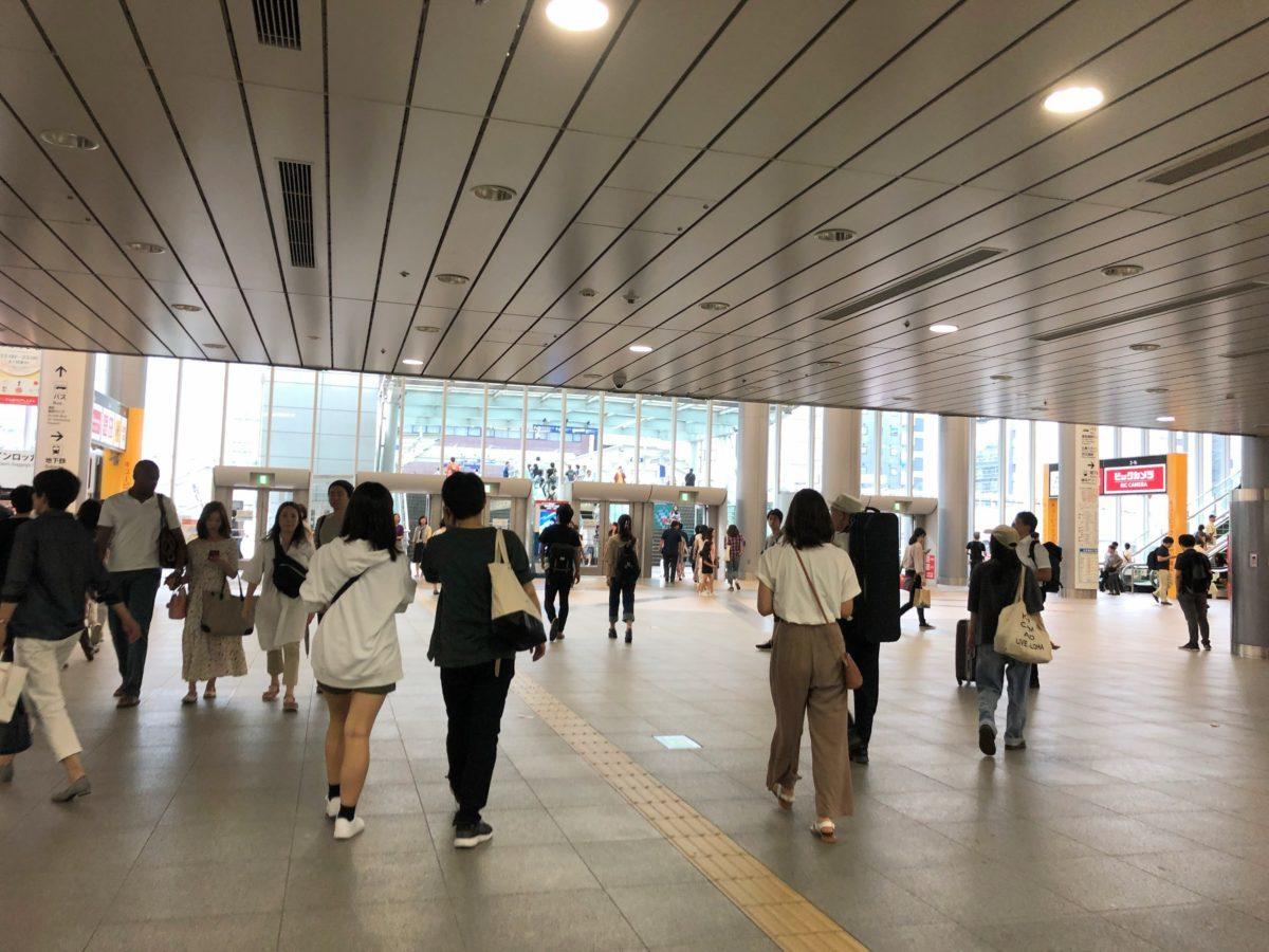 新横浜駅北口